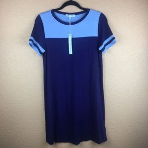 t-shirt dress • she + sky • size small